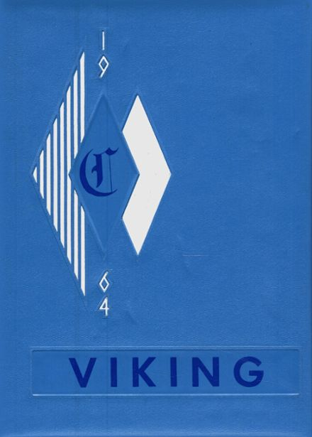 1964 Coeur d' Alene High School Yearbook Cover