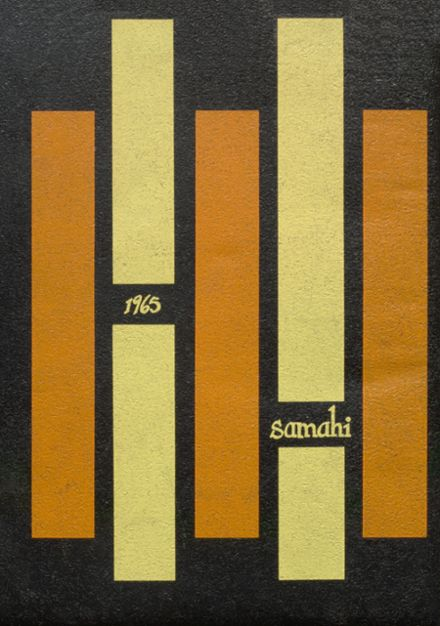 1965 St. Martin's High School Yearbook Cover