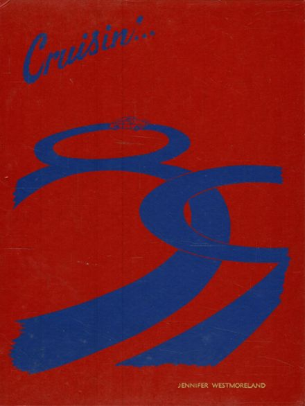 1989 Jefferson High School Yearbook Cover