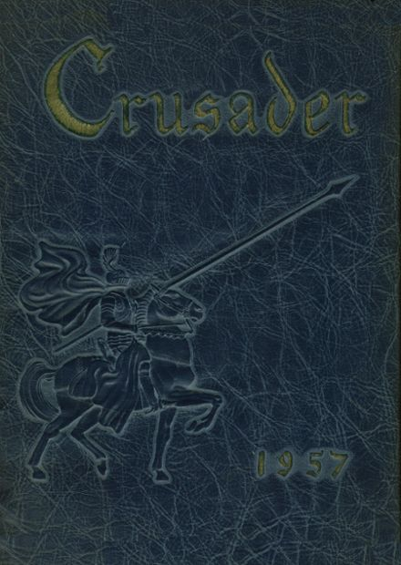 1957 St. Paul's High School Yearbook Cover