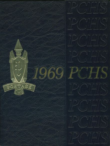 1969 Portage Central High School Yearbook Cover