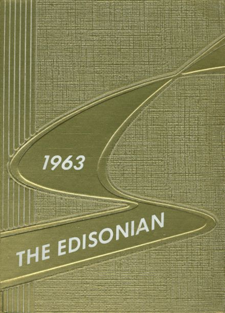 1963 Edison Technical High School Yearbook Cover