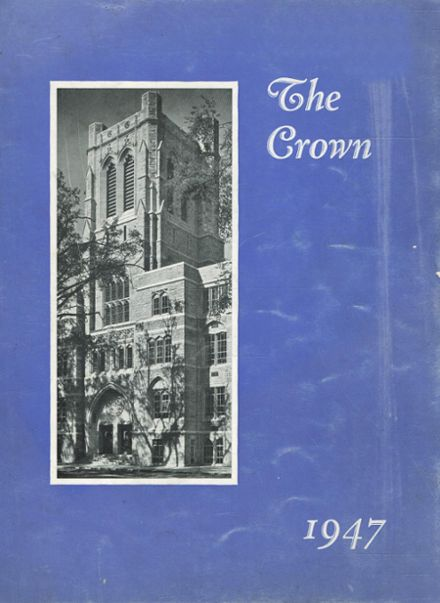 1947 St. Mary's Academy Yearbook Cover