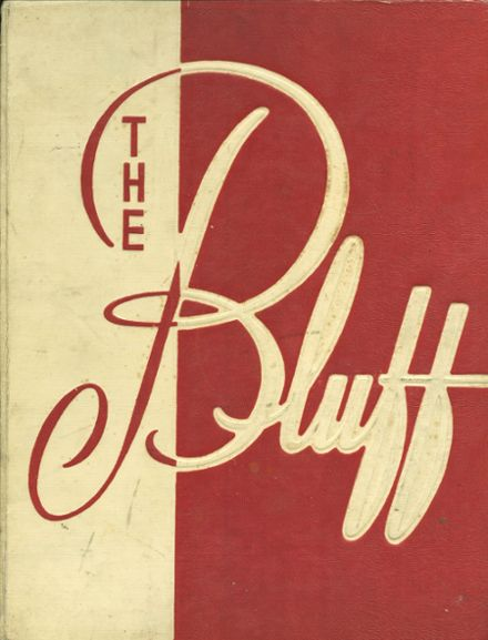 1960 Poplar Bluff High School Yearbook Cover