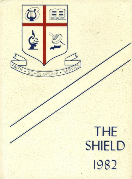 1982 St. Martin's Episcopal School Yearbook Cover