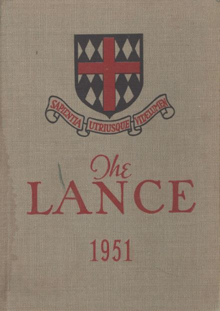 1951 St. George's School Yearbook Cover