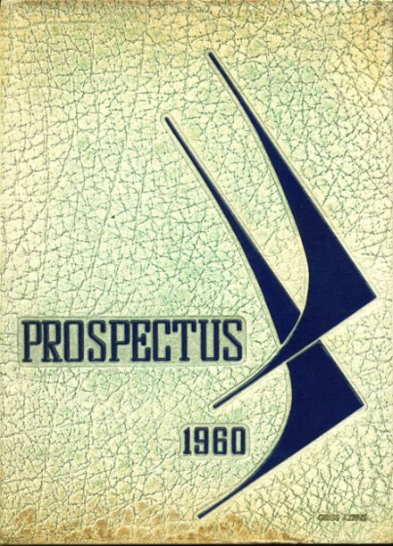 1960 Westfield Academy and Central School Yearbook Cover