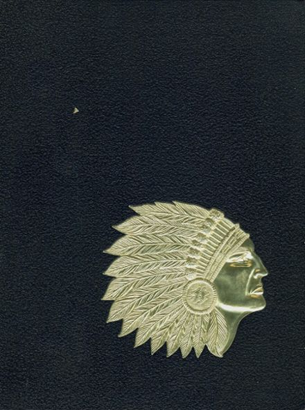 1966 Central High School Yearbook Cover
