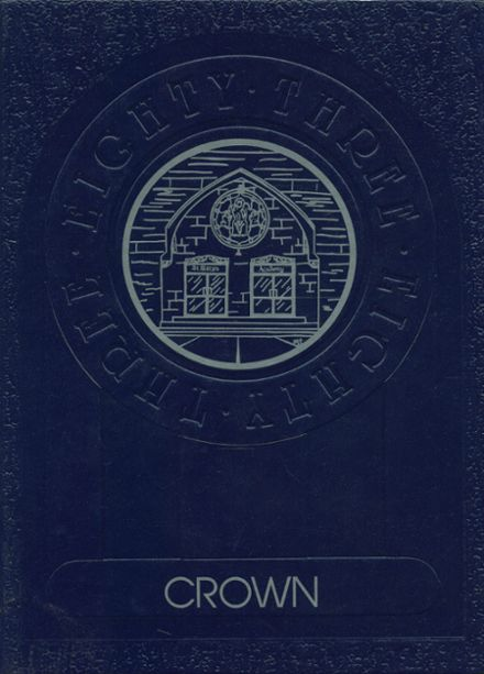 1983 St. Mary's Academy Yearbook Cover