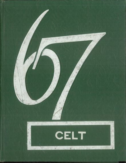 1967 St. Patrick's Girls High School Yearbook Cover