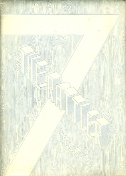 1955 Emmett Scott High School Yearbook Cover