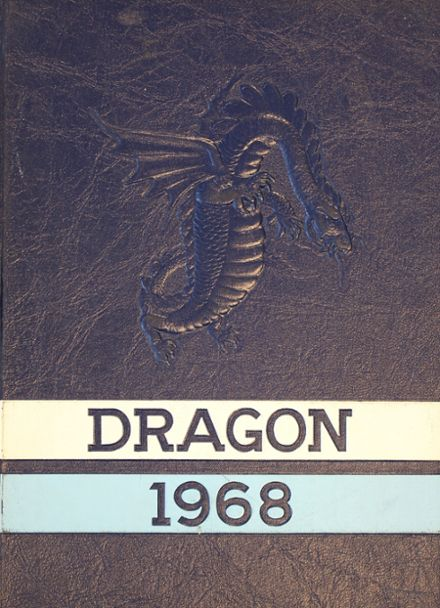1968 Warren Area High School Yearbook Cover