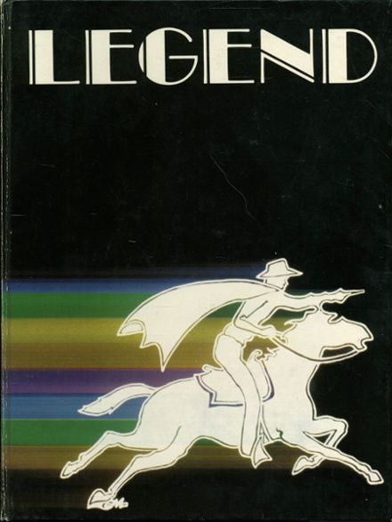1982 Robert E. Lee High School Yearbook Cover