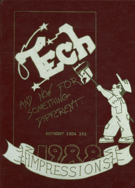 1988 Hutchinson Central Technical High School 304 Yearbook Cover