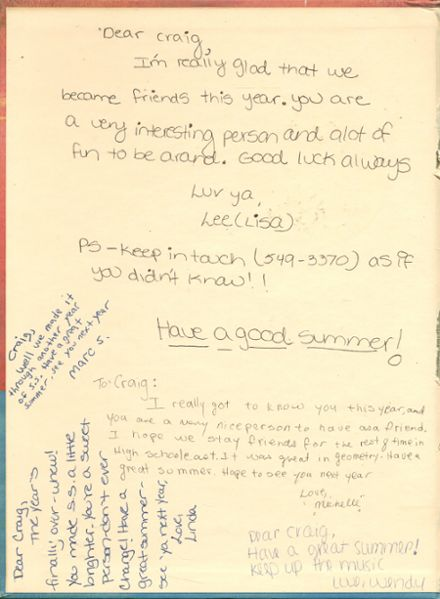 1984 Half Hollow Hills High School East Yearbook Page 2