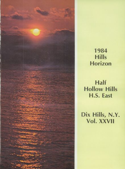 1984 Half Hollow Hills High School East Yearbook Page 5