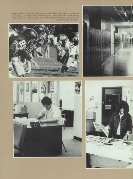 1984 Half Hollow Hills High School East Yearbook Page 6