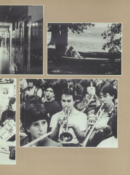 1984 Half Hollow Hills High School East Yearbook Page 7