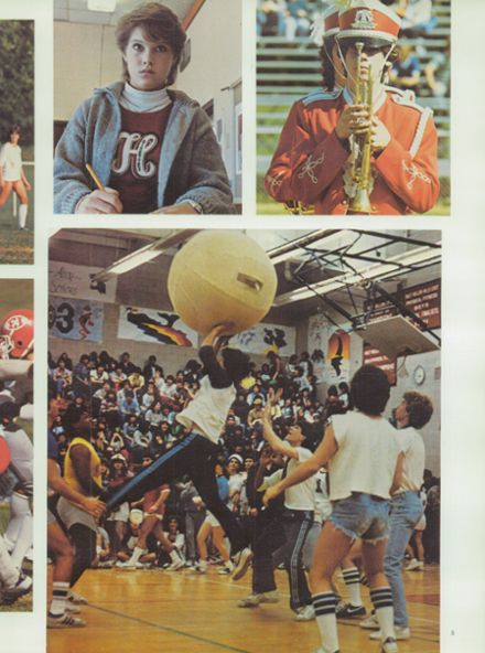 1984 Half Hollow Hills High School East Yearbook Page 9