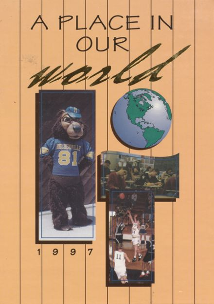 1997 Holdenville High School Yearbook Cover