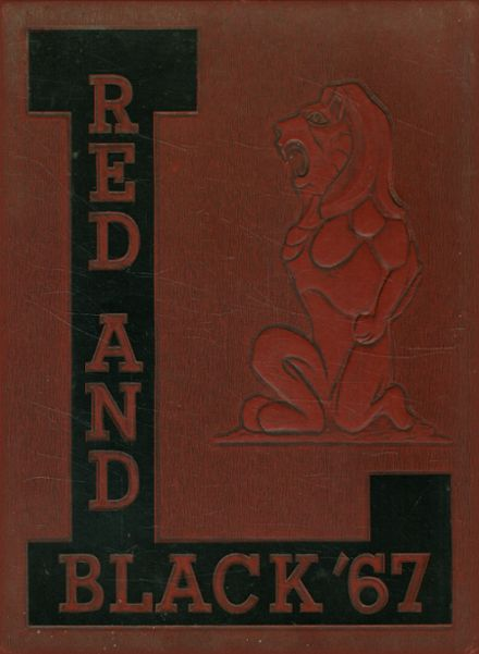 1967 Lawrence High School Yearbook Cover