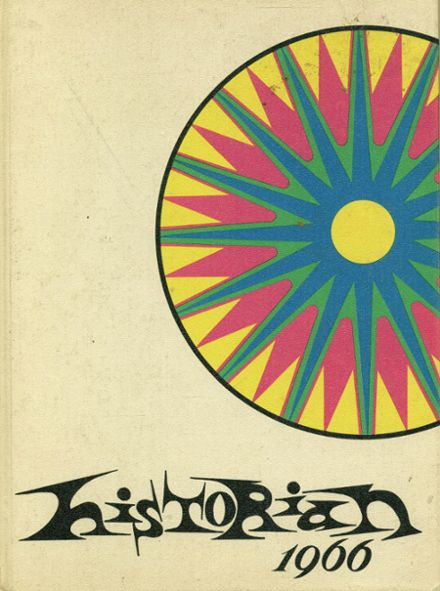 1966 McClintock High School Yearbook Cover