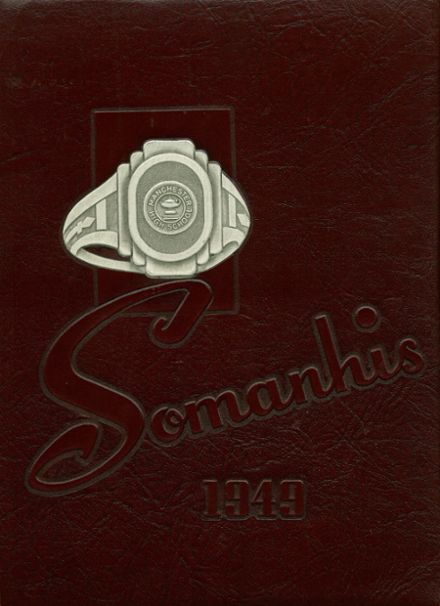 1949 Manchester High School Yearbook Cover