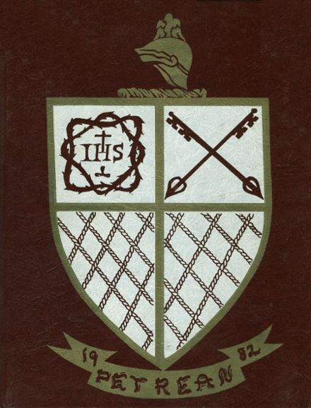 1982 St. Peter's Preparatory School Yearbook Cover