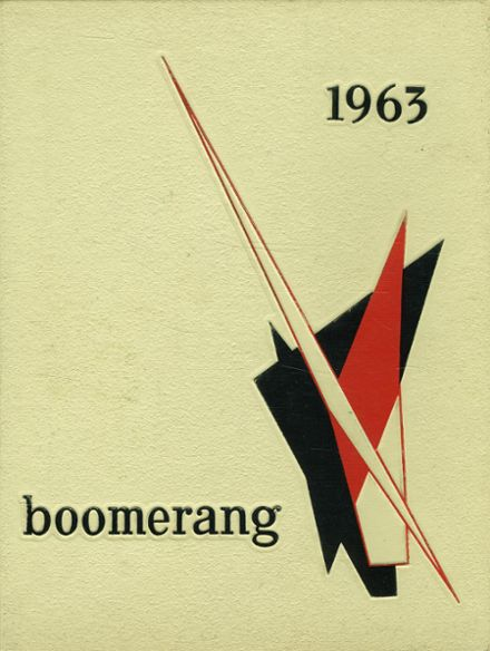 1963 Holland High School Yearbook Cover