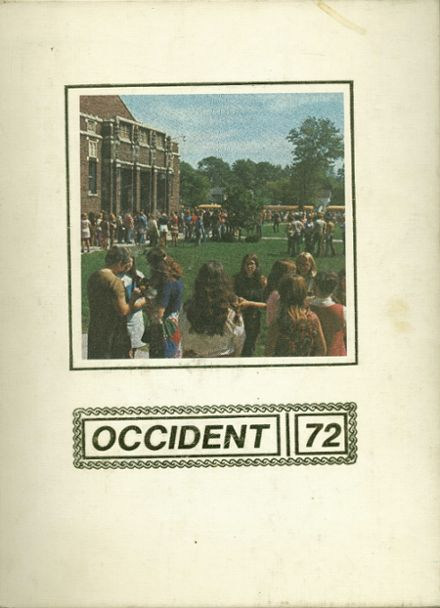 1972 Handy High School Yearbook Cover