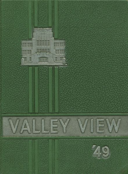 1949 Cassadaga Valley High School Yearbook Cover
