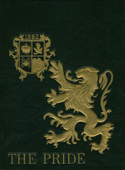 1980 Queen Anne's County High School Yearbook Cover