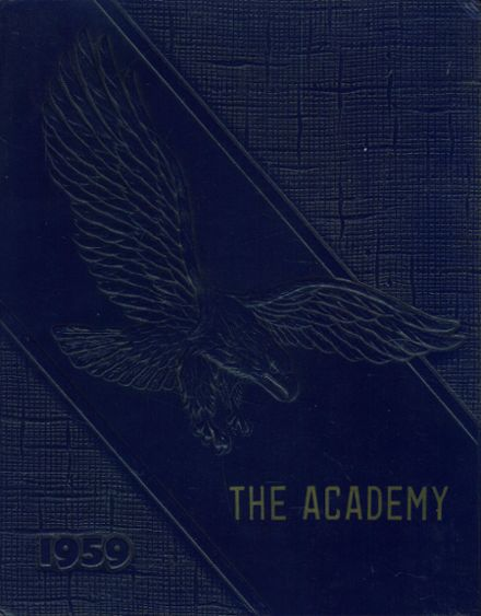 1959 St. Joseph's Academy Yearbook Cover