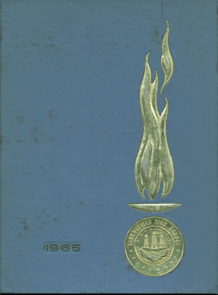 1965 Bakersfield High School Yearbook Cover