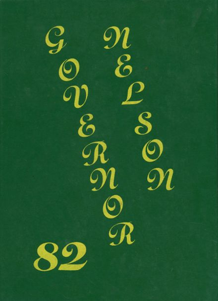 1982 Nelson County High School Yearbook Cover