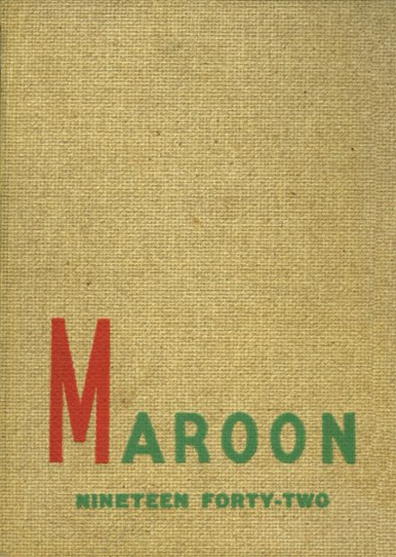 1942 Boys' Central High School Yearbook Cover
