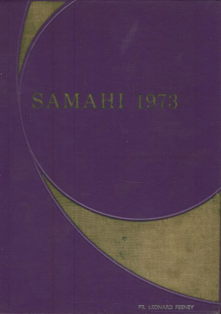 1973 St. Martin's High School Yearbook Cover