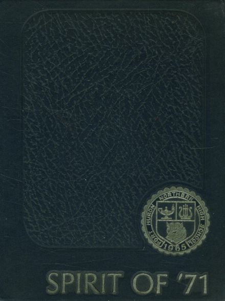 1971 Northern High School Yearbook Cover