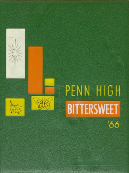 1966 Penn High School Yearbook Cover