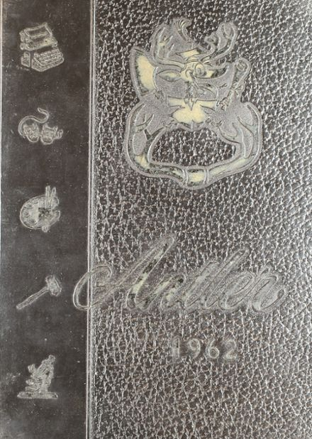 1962 East Deer Frazer High School Yearbook Cover