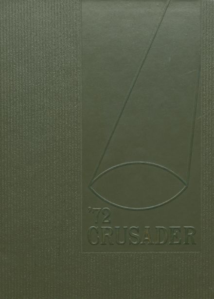 1972 Chicago Christian High School Yearbook Cover
