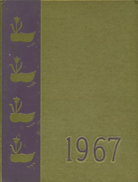 1967 Holland Central High School Yearbook Cover