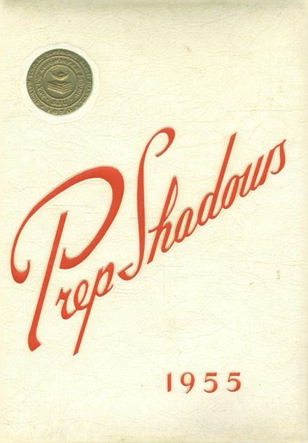 1955 Saint John's Preparatory School Yearbook Cover
