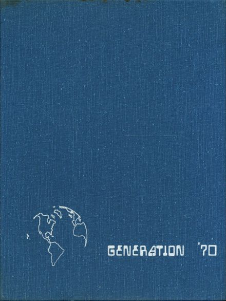 1970 Franklin Central High School Yearbook Cover