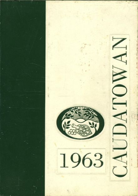 1963 Ridgefield High School Yearbook Cover