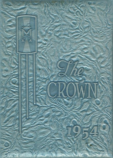 1954 St. Mary's Academy Yearbook Cover