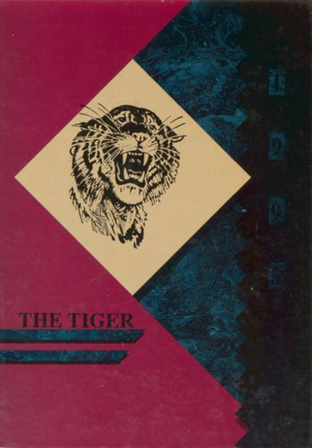1995 Crystal Springs Consolidated High School Yearbook Cover