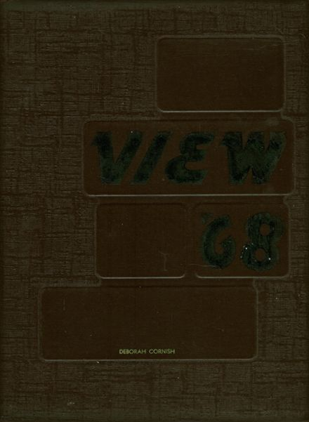 1968 Edmondson High School 400 Yearbook Cover