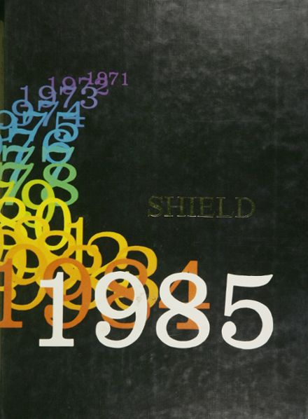 1985 West Leyden High School Yearbook Cover