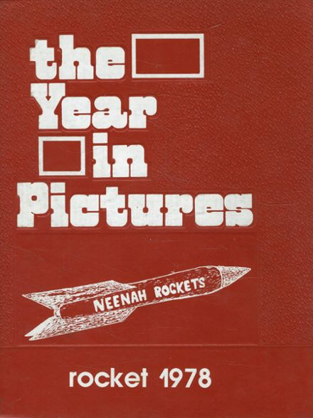 1978 Neenah High School Yearbook Cover